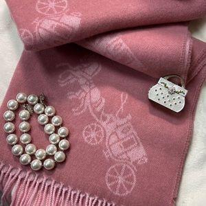 🧣Super Soft & Sophisticated🧣Coach Oversize Wrap